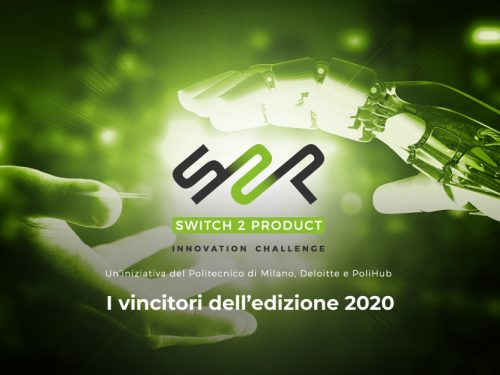 Switch2Product: premiati i vincitori dell'edizione 2020